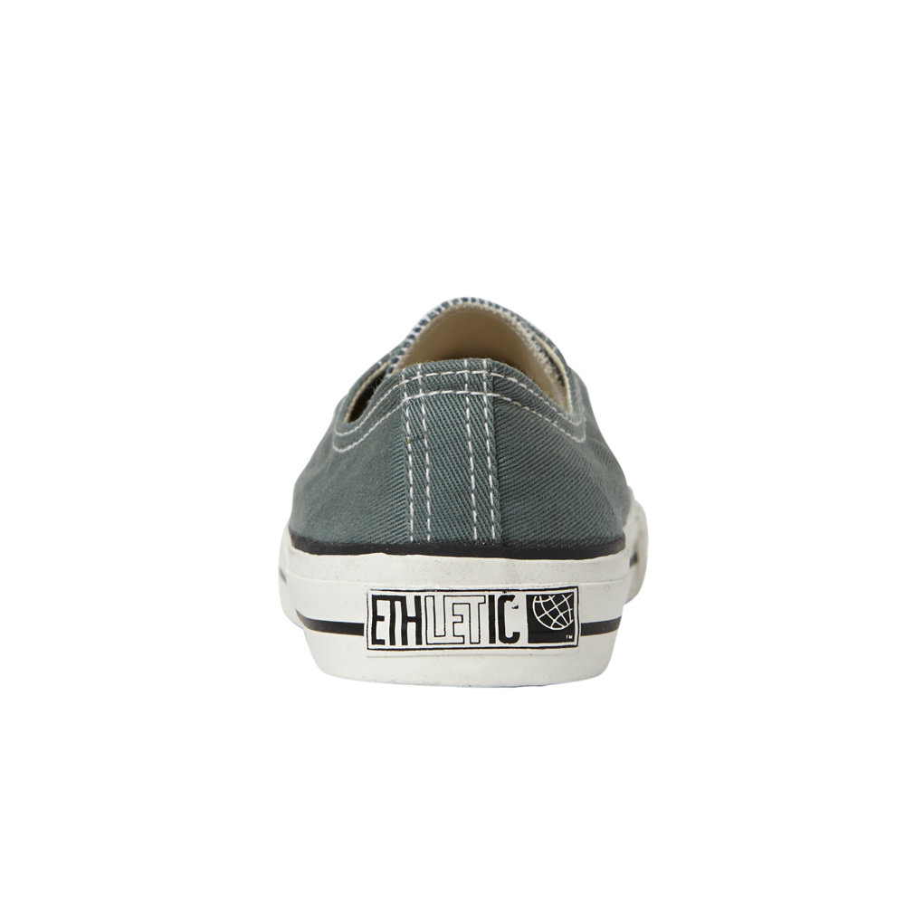 Ethletic Kids Lo Cut Classic Reseda Green | Just White