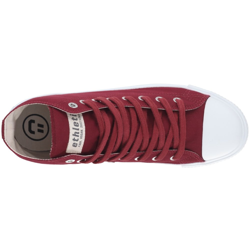 Ethletic Fair Trainer  White Cap Hi Cut Collection 18 True Blood | Just White