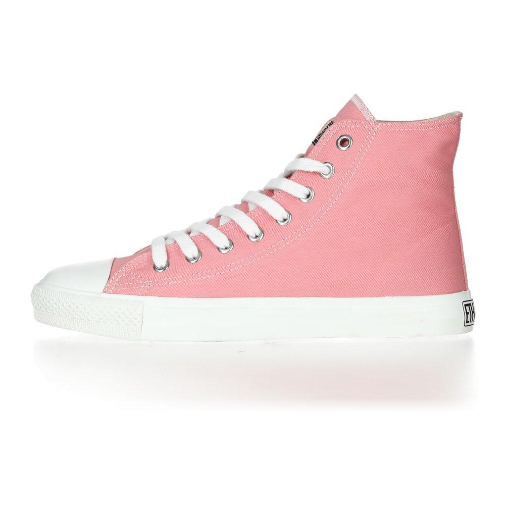 Ethletic Fair Trainer  White Cap Hi Cut Collection 17 Ice Cream Pink | Just White