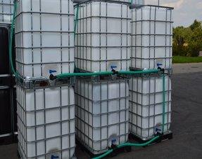 IBC Tankanlagen in 2000L, 4000L und 6000L