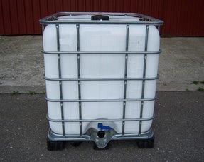 IBC Tank/ Container 1000L mit UV-Schutz, gereinigt und geprüft