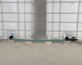IBC Tankverbindungen mit Schlauch