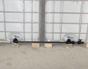 IBC Tankverbindungen mit Rohr