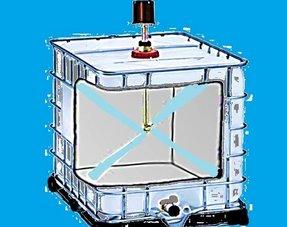 Reinigung / Aufbereitung von IBC Tanks/ Container