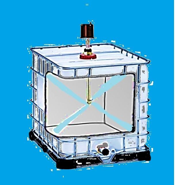 IBC Tank Reinigung Rekonditionierung
