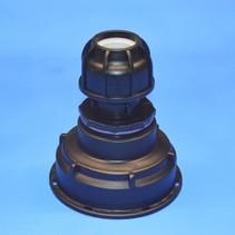 IBC Adapter S100x8 x 32 mm Rohr Klemmverbindung mit Dichtung #Z1500