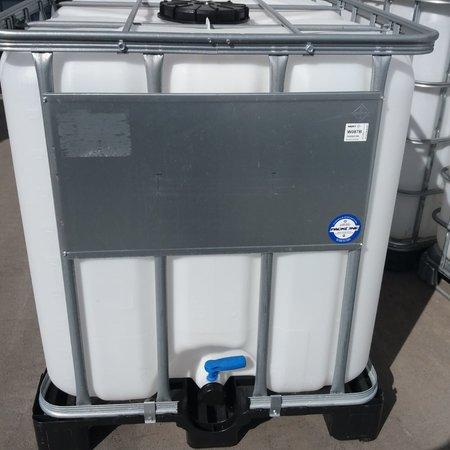 IBC Tank, 1000L, Regenwassertank auf Stahl/ PE-Palette 1. Wahl
