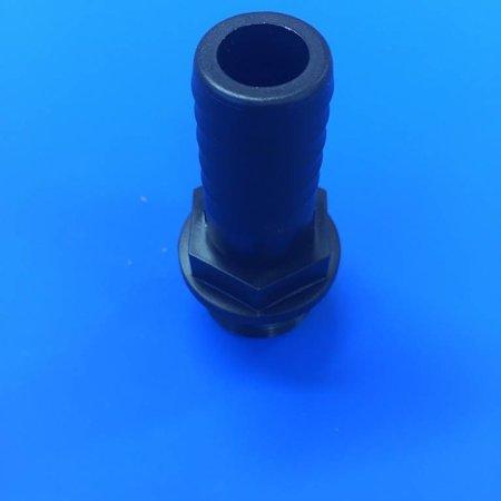 """Schlauchtülle für 20mm (3/4"""") Schläuche x 3/4"""" AG #BU34AG20"""