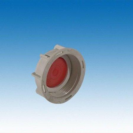 "IBC Adapter,Feingewinde SCHÜTZ 62mm x 3/4"" IG #FS1200"