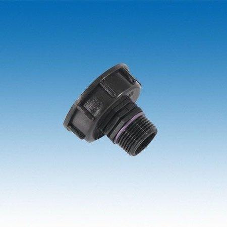 "IBC Adapter, Grobgewinde S60x6 x 1"" AG #H25"