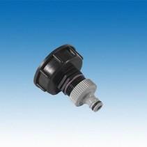 "IBC Adapter S60x6 x 1"" AG, inkl. Kupplung, GARDENA kompatibel #H25G"