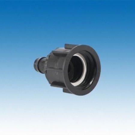 IBC Adapter,Grobgewinde S60x6, inkl. 25mm Schlauchtülle #22