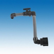 IBC Adapter mit Kugelhahn Schwanenhals  #11
