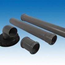 IBC Verbindungsset, HT-Rohr 70mm für Fallrohr #93