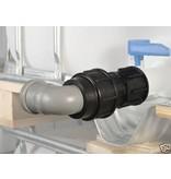 IBC Adapter, Grobgewinde S60x6 für 50mm Rohre KLEMMVERBINDUNG #1400