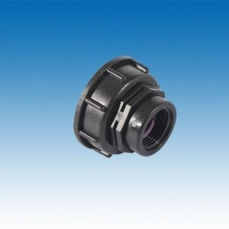 "IBC Adapter, Grobgewinde S60x6 x 1"" IG #H1201"
