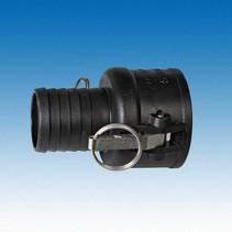 "IBC Adapter, Camlock x 2"" (50 mm) Schlauchtülle #3000"