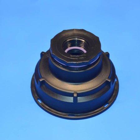 """IBC Adapter, Grobgewinde S100x8 x 1"""" IG #Z1201"""