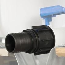 IBC Adapter, S60x6 mit 50 mm Schlauchtülle #28