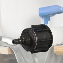 IBC Adapter, S60x6 mit 12 mm Schlauchtülle #20