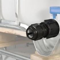 IBC Adapter, Feingewinde für 32 mm Rohre KLEMMVERBINDUNG #F1500