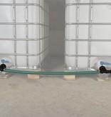 IBC Tankverbindung, mit Schlauch nebeneinander S100x8 #Z51TVSMA