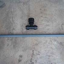 IBC Tankverbindung S100x8 Verlängerung mit Rohr #Z82