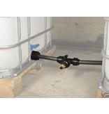 IBC Tankverbindung mit Rohr gegenüber für S100x8 #Z86 TVGMA