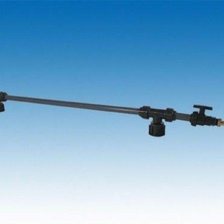 IBC Tankverbindung mit Rohr nebeneinander für S100x8 #Z81 TVRMA