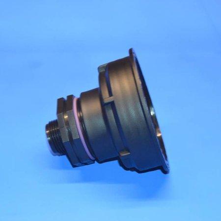 "IBC Adapter, S100x8 x 1"" AG mit Dichtung #Z25"