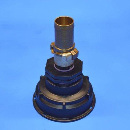 IBC Adapter, Grobgewinde S100x8 mit 32 mm Schlauchtülle GEKA #Z5G