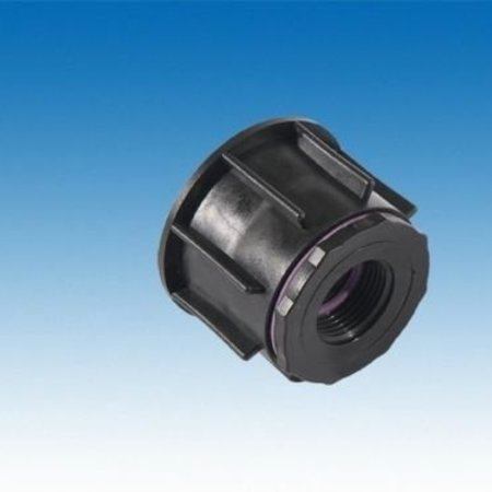 "IBC Adapter, mit 60mm Feingewinde x 3/4"" IG #F1200"