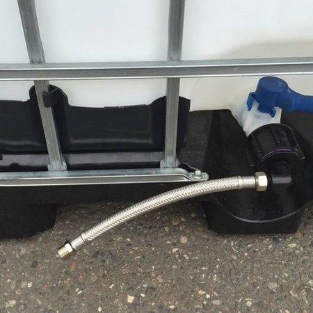 Tränke mit IBC Verbindungsset Schlauch 30cm #UT400VS4