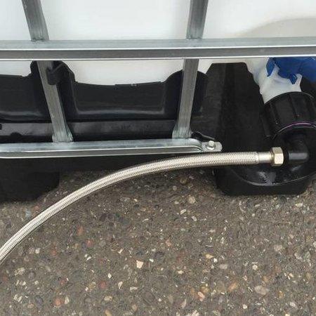 Tränke mit IBC Verbindungsset Schlauch 50cm #UT400VS5