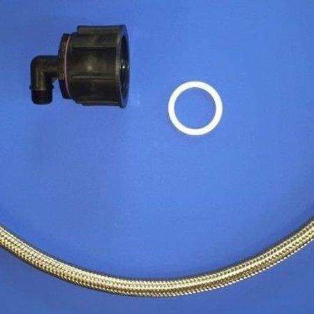 Tränke mit IBC Verbindungsset Schlauch 80cm #UT400VS6