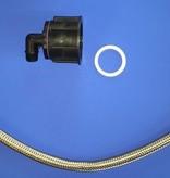 Tränke mit IBC Verbindungsset Schlauch 80cm #DBLVS3