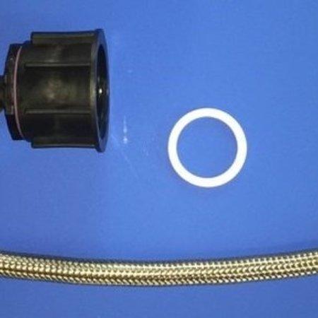 Tränke mit IBC Verbindungsset Schlauch 50cm #DBLVS2