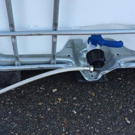 Tränke mit IBC Verbindungsset Schlauch 50cm #TW30VS2
