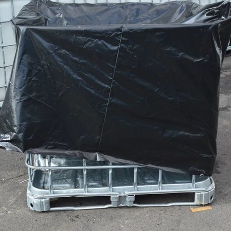 IBC UV- Folie, Schutzhülle für Tank 600 l , Gitterbox, Schwarz