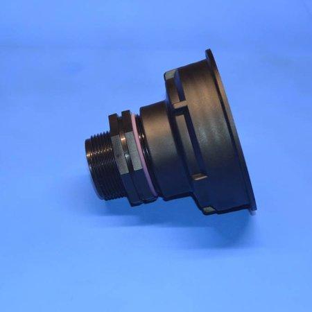 "IBC Adapter S100x8 x 1 1/2"" AG  mit Dichtung #Z1303"
