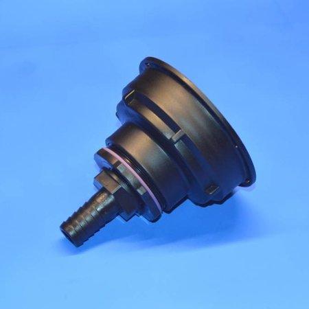 IBC Adapter S100x8 x 19mm Schlauchtülle mit Dichtung #Z21