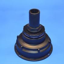 IBC Adapter S100x8 x 30 mm Schlauchtülle mit Dichtung #Z26