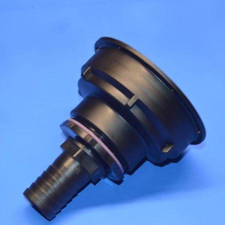IBC Adapter S100x8 x 30mm Schlauchtülle mit Dichtung #Z26