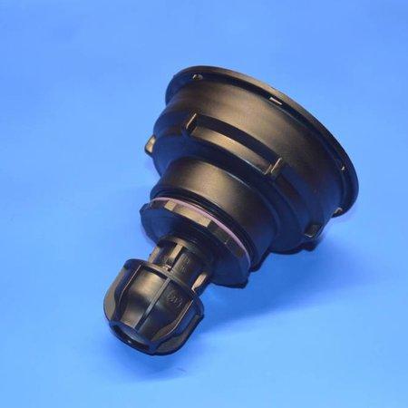 IBC Adapter S100x8 x 20mm Rohr Klemmverbindung mit Dichtung #Z1700