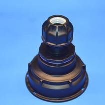 IBC Adapter S100x8 x 25 mm Rohr Klemmverbindung mit Dichtung #Z1600