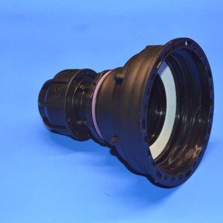 IBC Adapter S100x8 x 32mm Rohr Klemmverbindung mit Dichtung #Z1500
