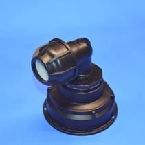 IBC Adapter S100x8 x 32 mm Rohrverbindung Winkel mit Dichtung #Z1501