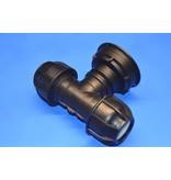 IBC Adapter S100x8 x 50mm Rohrverbindung T-Stück mit Dichtung #Z1401