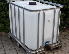 IBC Tank/ Container 600L Neu, für Trinkwasser und Lebensmittel