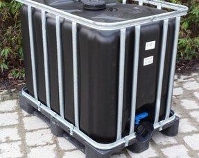 IBC Tank/ Container 600L Neu, mit UV-Schutz für Trinkwasser u. Lebensmittel
